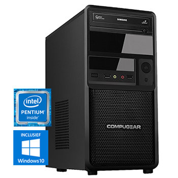 COMPUGEAR Premium PP5400-8H (met Pentium G5400, 8GB RAM en 1TB HDD)