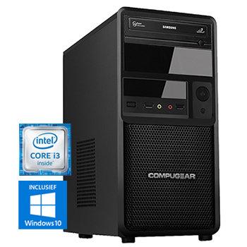 COMPUGEAR Premium PC8100-8H (met Core i3 8100, 8GB RAM en 1TB HDD)