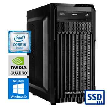 COMPUGEAR CAD CC8600K-16SH-P1000