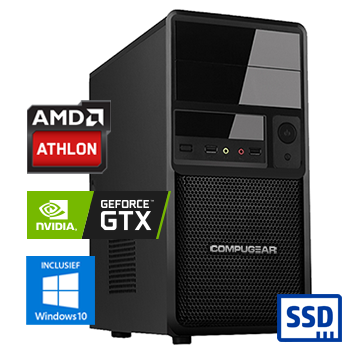 COMPUGEAR Advantage X21 (Athlon + 240GB SSD + GTX 1050)