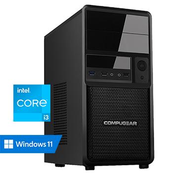 COMPUGEAR Value VC3-8R480S (met Core i3 10100, 8GB RAM en 480GB SSD)