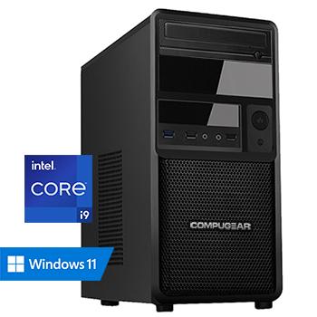 COMPUGEAR Deluxe DC9-64R500M4H (met Core i9 10900, 64GB RAM, 500GB M.2 SSD en 4TB HDD)