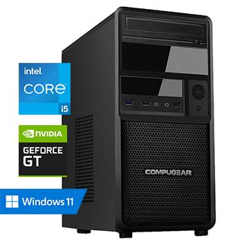 COMPUGEAR Allround AC5F-16R250M1H-G30 (met Core i5 10400F, 16GB RAM, 250GB M.2 SSD, 1TB HDD en GT 1030)