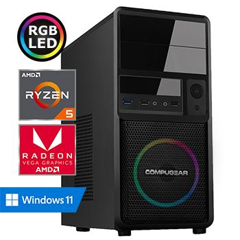 COMPUGEAR Advantage X18 (met Ryzen 5, 8GB RAM, 480GB SSD en Radeon RX Vega 11)